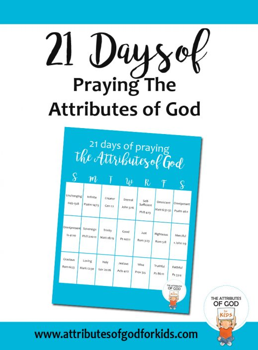 Resources - The Attributes of God for Kids