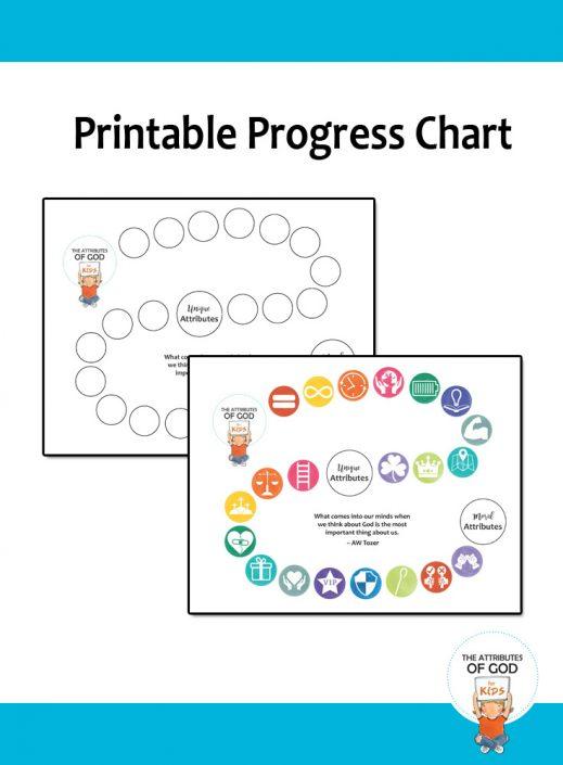 Attributes of God Progress Chart