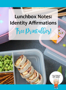 Lunch Box Note Printables